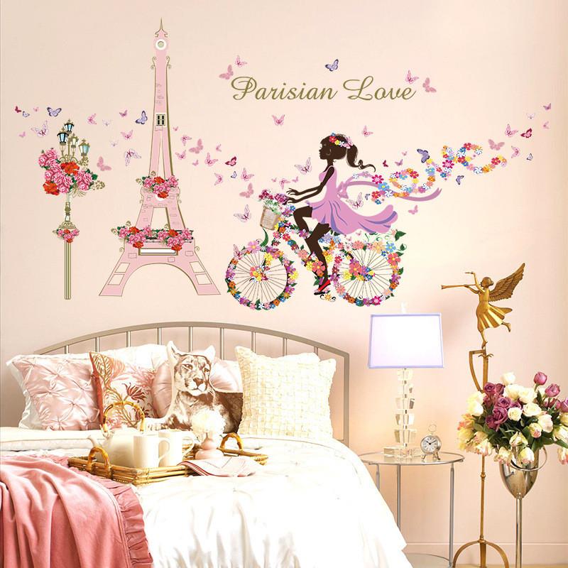 Romantic Bedroom Wall Decor: Romantic Paris Bedroom Decor